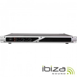 """Amplificador Áudio 19"""" 2X250W Ibiza"""