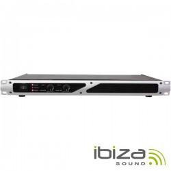 """Amplificador Áudio 19"""" 2X600W Ibiza"""