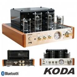 Amplificador A Válvulas 2X50W Vintage Usb/Bt Koda