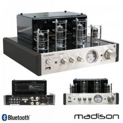 Amplificador A Válvulas 2X50W Vintage Usb/Bt Madison