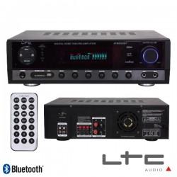 Amplificador Stereo Hifi 2X50W + 3X20W Usb/Fm/Bt/Sd Ltc