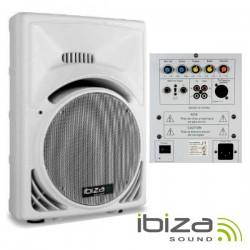 Coluna Amplificada 15' 800Wmáx Usb Abs Branca Ibiza
