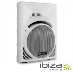 "Coluna Passiva 15"" 700Wmáx Abs Branca Ibiza"