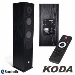 Coluna Centro Amplificada Usb/Bt/Sd 16cm 60W Preta Koda