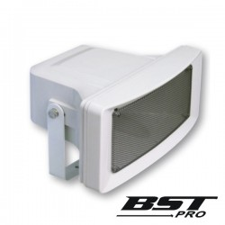 "Altifalante Corneta Pa 100V 5"" 40W Ip65 Abs Branco"