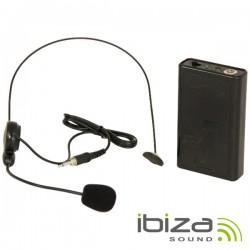 Microfone Headset S/ Fios p/ Colunas Port Ibiza
