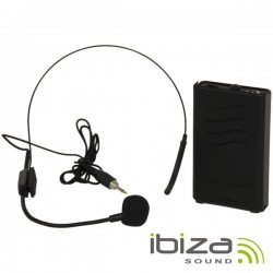 Microfone Headset S/ Fios 207.5Mhz Ibiza