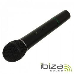 Microfone S/ Fios p/ Colunas Port 207.5Mhz Ibiza