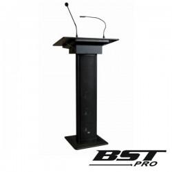 Sistema Conferência Amplificado 3 Colunas Mic Luz 90W Preto
