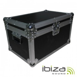 Mala Transporte Dj 2 Moving Heads Alumínio Reforçada Ibiza