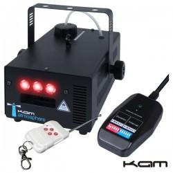 Máquina de Fumos c/ Comando S/Fios 900W Kam