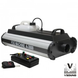 Máquina de Fumos 3000W Dmx E Comando Vsound