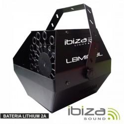 Máquina de Bolhas 25W Preta Bat Lithium 2A Ibiza