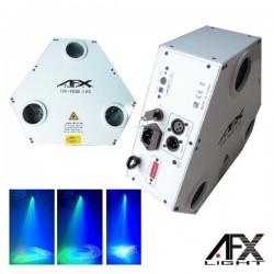 Laser 400Mw Rgb 3 Módulos Dmx Mic Afxlight