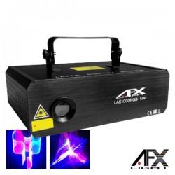 Laser 1W Rgb 5 Efeitos 3D 5X16 Padrões Ilda Dmx Afxlight