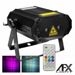 Laser 210Mw Rgb Firefly Preto Comando Afxlight
