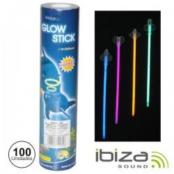Conjunto 36 Barras Maleáveis Iluminados Multicor 200mm Ibiza