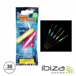 Conjunto 30 Barras Maleáveis Iluminados Multicor 210mm Ibiza