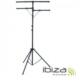 Suporte p/ Luzes Duplo 200-350cm Ibiza