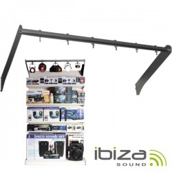 Barra p/ Iluminação Mostruários 100cm Ibiza