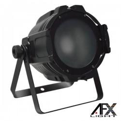 Projector Luz c/ 1 Led Cob 150W Rgb Dmx Mic Afxlight