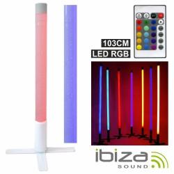 Barra c/ LED Rgb Plástico Comando E Efeitos Ip44 103cm Ibiza