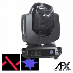 Moving Head Lâmpada 7R 230W 2 Discos Dmx Mic Afxlight