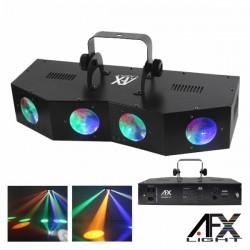 Projector Luz c/ 20 Leds 3W Rgbaw 4 Lentes Afxlight