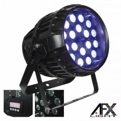 Projector Luz c/ 18 Leds 15W Rgbaw Dmx Ip65 Afxlight