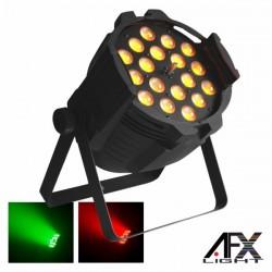 Projector Luz c/ 18 Leds 15W Rgbaw Zoom Dmx Afxlight
