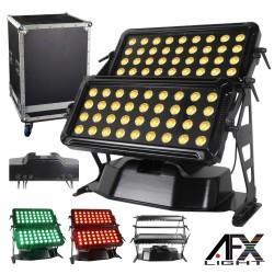 Projector 72 Leds 12W Rgbw Dmx c/ Mala Ip65 Afxlight