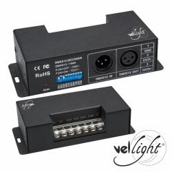 Controlador Dmx p/ Fitas LED 4 Canais Alta Potência Vellight