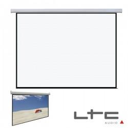 """Tela Projecção Eléctrica Teto/Parede 90"""" 200X112cm 16/9 Ltc"""