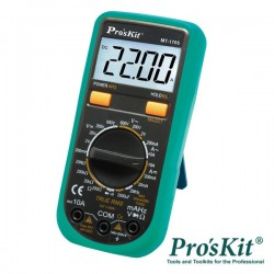 Multímetro Digital 3½ Dígitos True Rms Pro'sKit