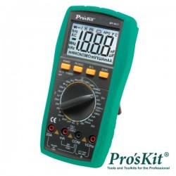Multímetro Digital 3½ Dígitos Lcr Retroiluminado Proskit
