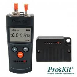 Multímetro c/ Medidor de Fibra Óptica Pro'sKit