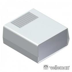 Caixa Abs E Alumínio 198X178X90mm Cinza