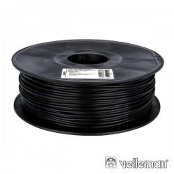 Rolo de Filamento p/ Impressão 3D 3mm 1Kg Preto