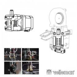 2ª Cabeça Impressão p/ Impressora 3D Vertex K8400 Velleman