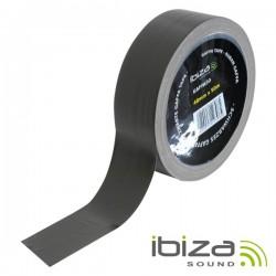 Fita Adesiva Gaffa 48mm 50M Preto Ibiza