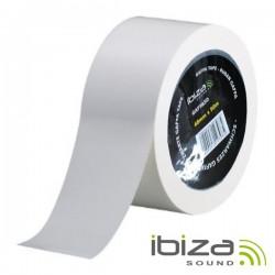 Fita Adesiva Gaffa 48mm 50M Branco Ibiza