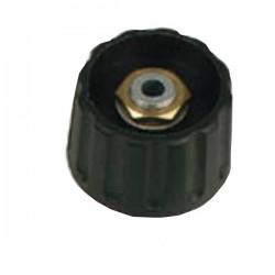 Botão Preto 21X6mm