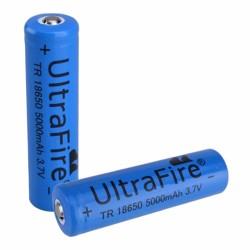Bateria Lithium 18650 3.7V 5000mA Recarregável
