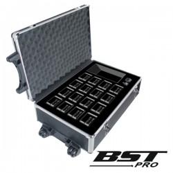 Carregador de Baterias Inteligente p/ 16 Baterias