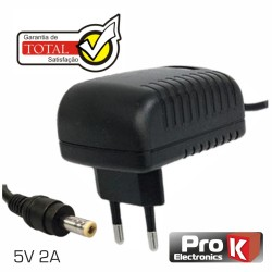 Alimentador Switching 5Vdc 2A Ø5.5x2.1mm - Prok