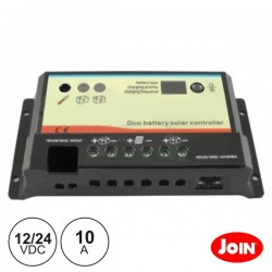 Regulador Painel Fotovoltáico 10A 12/24Vdc Join