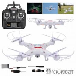 Drone c/ Camara 2Mp Hd Transmissor 4 Canais 2.4Ghz