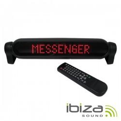 Placa Mensagem Led Vermelho Comando 230V Ibiza