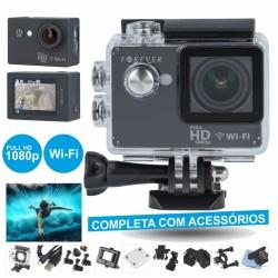 Camara de Acção Wi-Fi Full Hd 12Mp c/ Gravação Vídeo