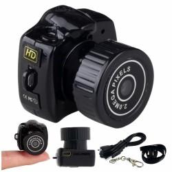 Câmara Vigilância Miniatura c/ Áudio Bateria 720P 2Mp